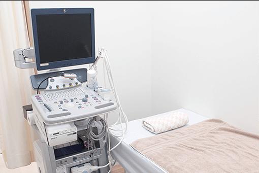 超音波検査(頸動脈、腹部、心臓)の画像
