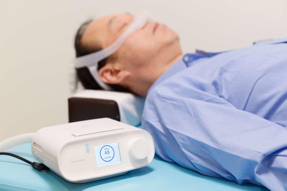 睡眠時無呼吸の治療装置CPAP(シーパップ)