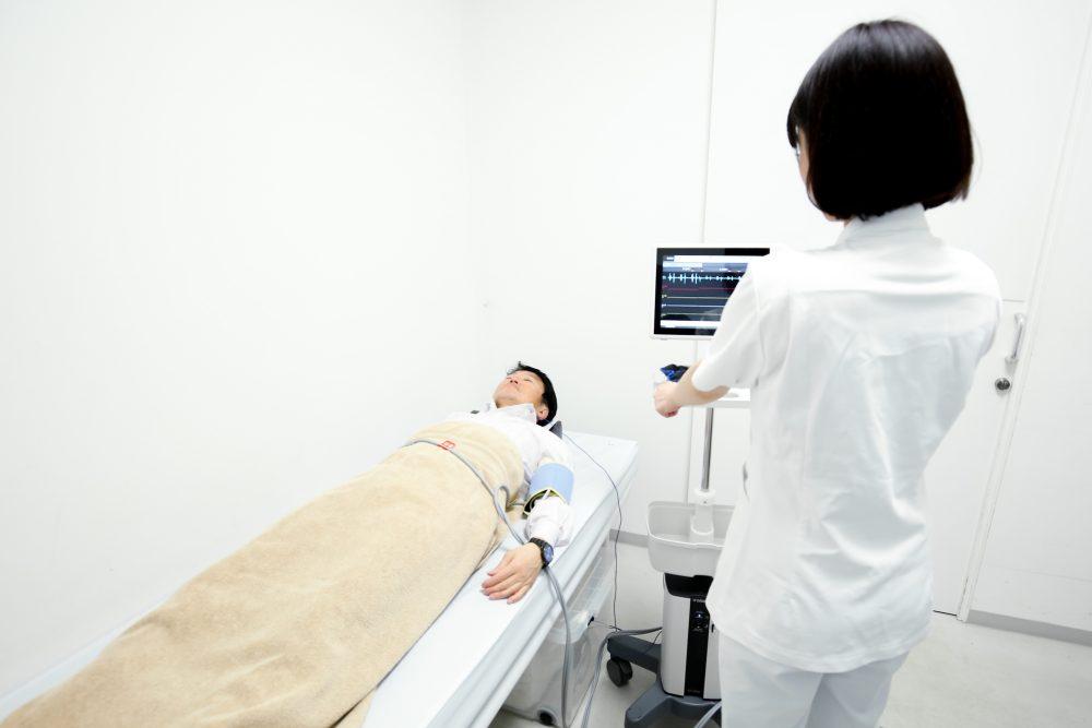 心電図の検査